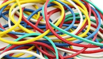 Mix Colour Rubber Band