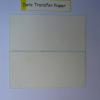Data transfer Paper sticker