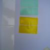 Glossy White Polyester Sticker
