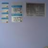 Matt Silver Polyester sticker (sandblast)