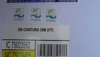 Mirrokote Paper Sticker