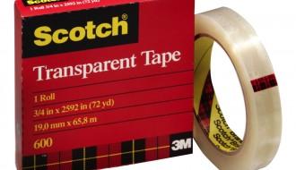 Scotch Premium Transparent Film Tape 600